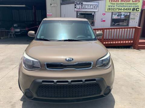 2015 Kia Soul for sale at TEXAS MOTOR CARS in Houston TX