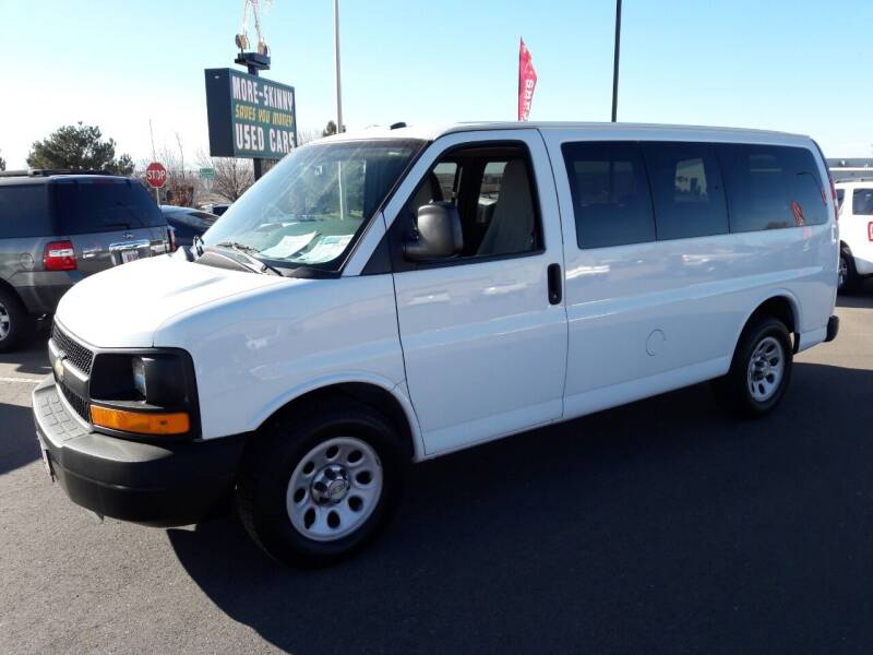 2013 Chevrolet Express Passenger for sale at More-Skinny Used Cars in Pueblo CO