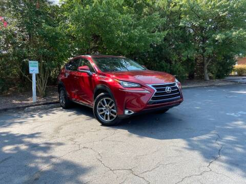 2015 Lexus NX 200t for sale at THE AUTO FINDERS in Durham NC