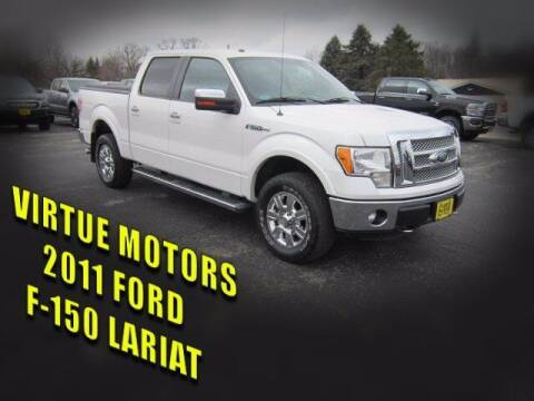 2011 Ford F-150 for sale at Virtue Motors Used in Darlington WI