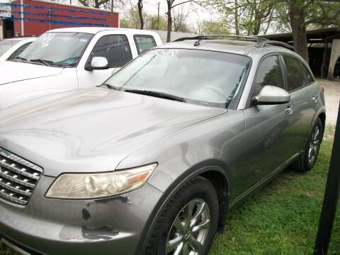 2008 Infiniti FX35 for sale at THOM'S MOTORS in Houston TX