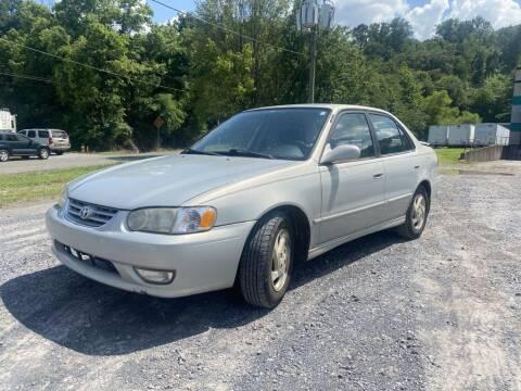 2001 Toyota Corolla for sale at USA 1 of Dalton in Dalton GA