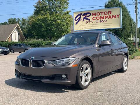 2012 BMW 3 Series for sale at GR Motor Company in Garner NC