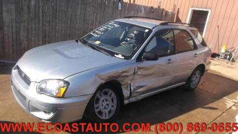 2004 Subaru Impreza for sale at East Coast Auto Source Inc. in Bedford VA