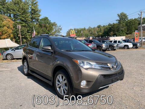 2015 Toyota RAV4 for sale at J & E AUTOMALL in Pelham NH
