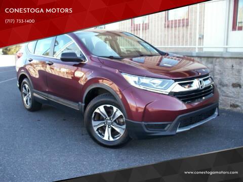 2017 Honda CR-V for sale at CONESTOGA MOTORS in Ephrata PA