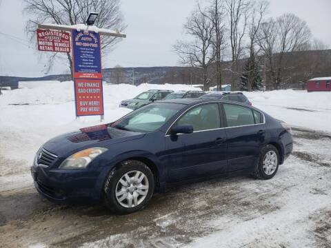 2009 Nissan Altima for sale at Wahl to Wahl Auto in Cooperstown NY