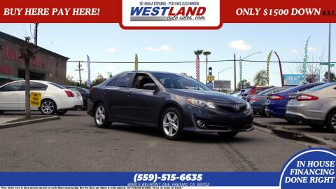 2014 Toyota Camry for sale at Westland Auto Sales on 7th in Fresno CA