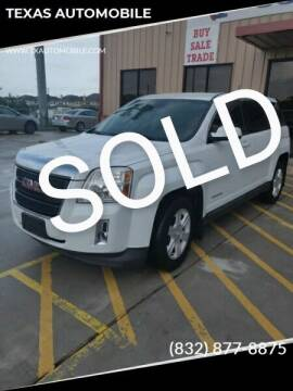 2014 GMC Terrain for sale at TEXAS AUTOMOBILE in Houston TX