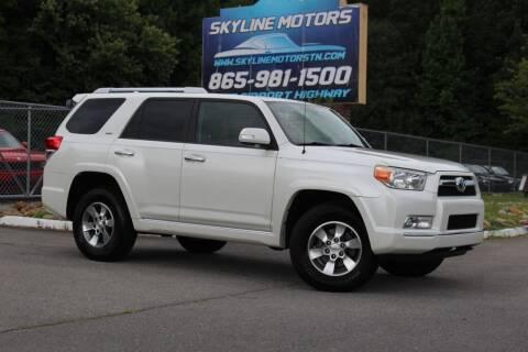 2011 Toyota 4Runner for sale at Skyline Motors in Louisville TN