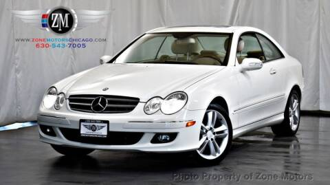2008 Mercedes-Benz CLK for sale at ZONE MOTORS in Addison IL