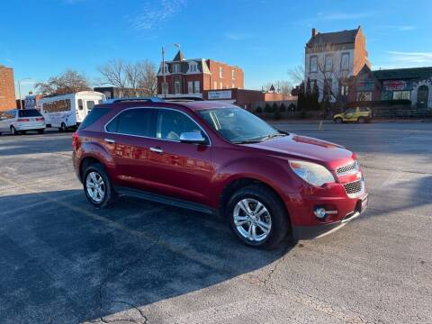 2011 Chevrolet Equinox for sale at DC Auto Sales Inc in Saint Louis MO