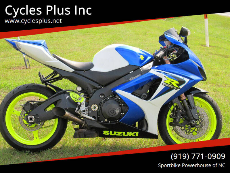 2007 Suzuki GSXR 1000 for sale at Cycles Plus Inc in Garner NC