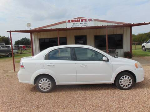 2011 Chevrolet Aveo for sale at Jacky Mears Motor Co in Cleburne TX