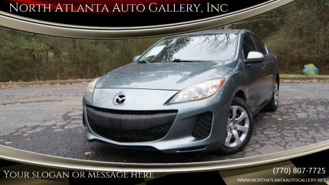 2013 Mazda MAZDA3 for sale at North Atlanta Auto Gallery, Inc in Alpharetta GA