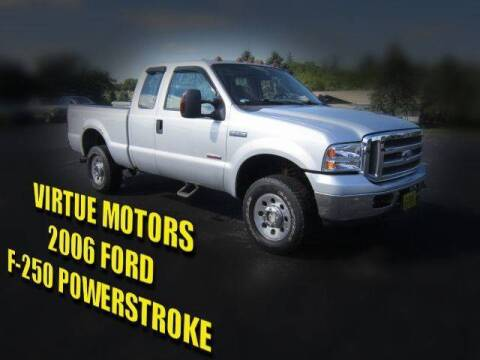 2006 Ford F-250 Super Duty for sale at Virtue Motors in Darlington WI