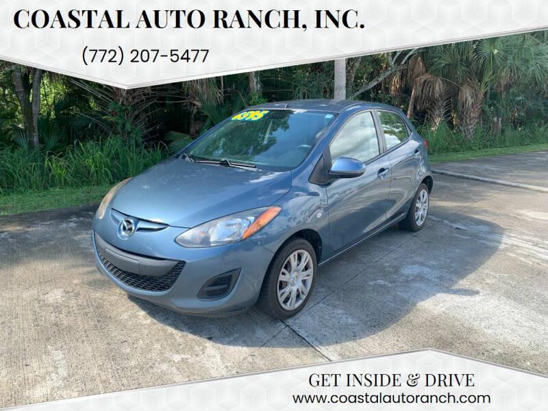 2014 Mazda MAZDA2 for sale at Coastal Auto Ranch, Inc. in Port Saint Lucie FL