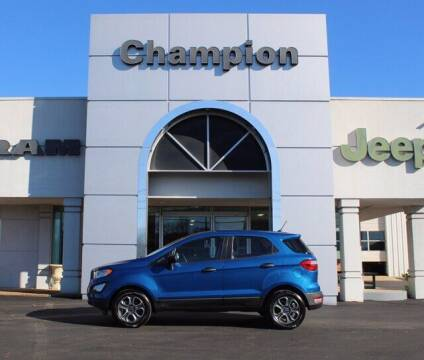 2019 Ford EcoSport for sale at Champion Chevrolet in Athens AL