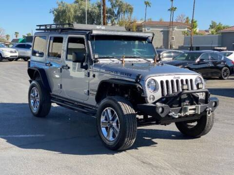 2016 Jeep Wrangler Unlimited for sale at Brown & Brown Wholesale in Mesa AZ