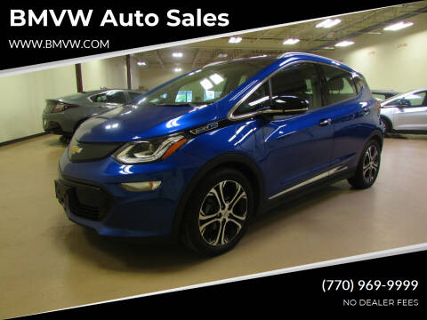 2017 Chevrolet Bolt EV for sale at BMVW Auto Sales - Electric Vehicles in Union City GA