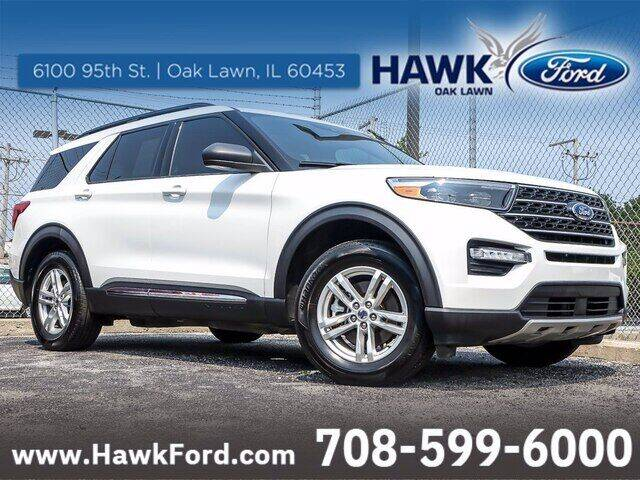 2020 Ford Explorer for sale at Hawk Ford of Oak Lawn in Oak Lawn IL