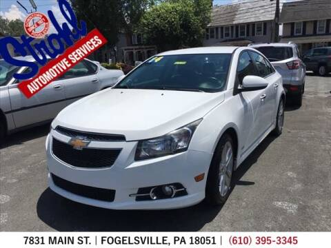 2014 Chevrolet Cruze for sale at Strohl Automotive Services in Fogelsville PA
