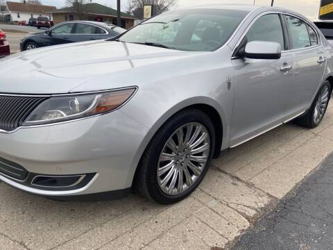 2013 Lincoln MKS for sale at Tonys Car Sales in Richmond IN