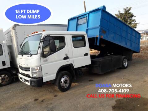 2015 Mitsubishi Fuso FEC72W for sale at DOABA Motors - Dump Truck in San Jose CA