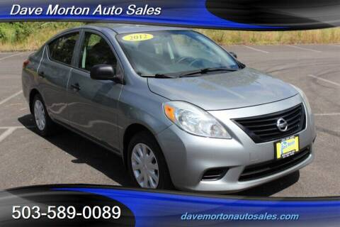 2012 Nissan Versa for sale at Dave Morton Auto Sales in Salem OR