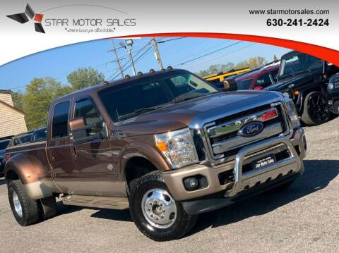 2012 Ford F-350 Super Duty for sale at Star Motor Sales in Downers Grove IL