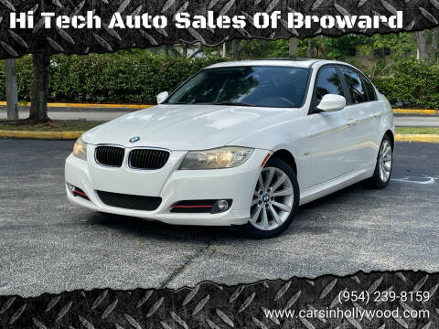 2011 BMW 3 Series for sale at Hi Tech Auto Sales Of Broward in Hollywood FL