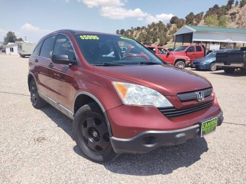 2007 Honda CR-V for sale at Canyon View Auto Sales in Cedar City UT