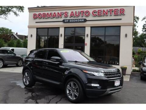 2013 Land Rover Range Rover Evoque for sale at DORMANS AUTO CENTER OF SEEKONK in Seekonk MA