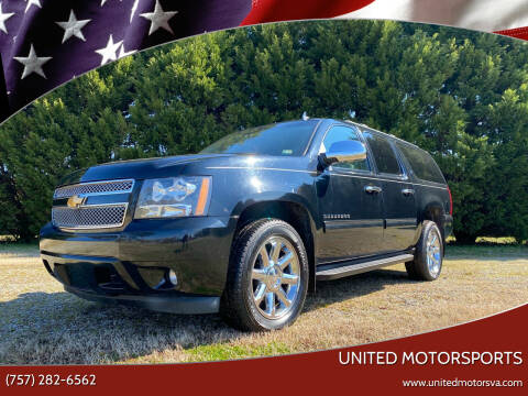 2012 Chevrolet Suburban for sale at United Motorsports in Virginia Beach VA