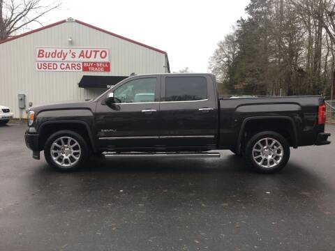 2015 GMC Sierra 1500 for sale at Buddy's Auto Inc in Pendleton SC