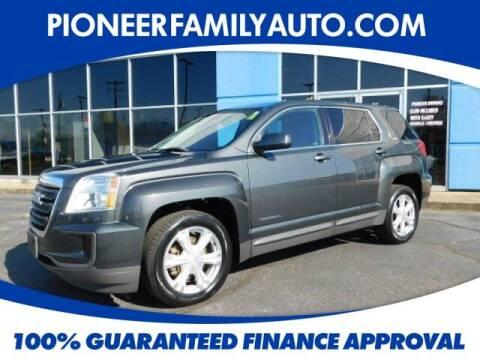 2017 GMC Terrain for sale at Pioneer Family auto in Marietta OH