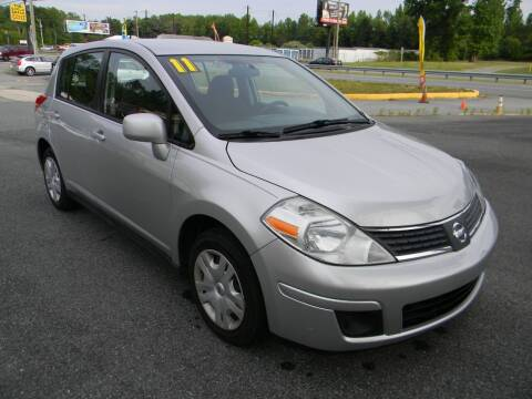 2011 Nissan Versa for sale at A C Auto Sales in Elkton MD