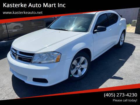 2014 Dodge Avenger for sale at Kasterke Auto Mart Inc in Shawnee OK