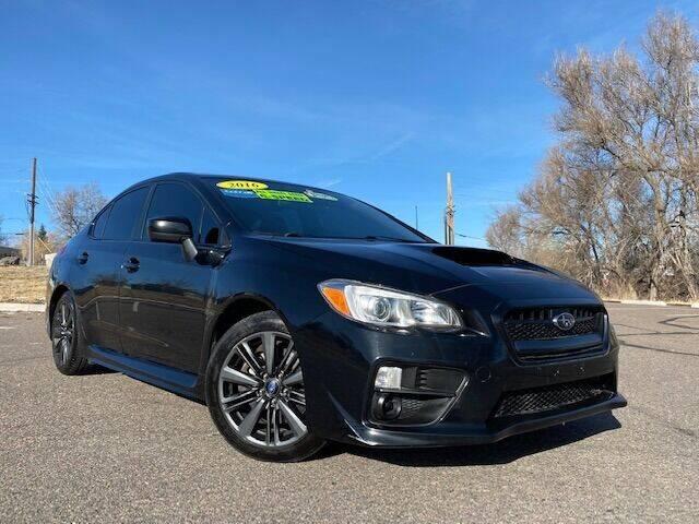 2016 Subaru WRX for sale at UNITED Automotive in Denver CO