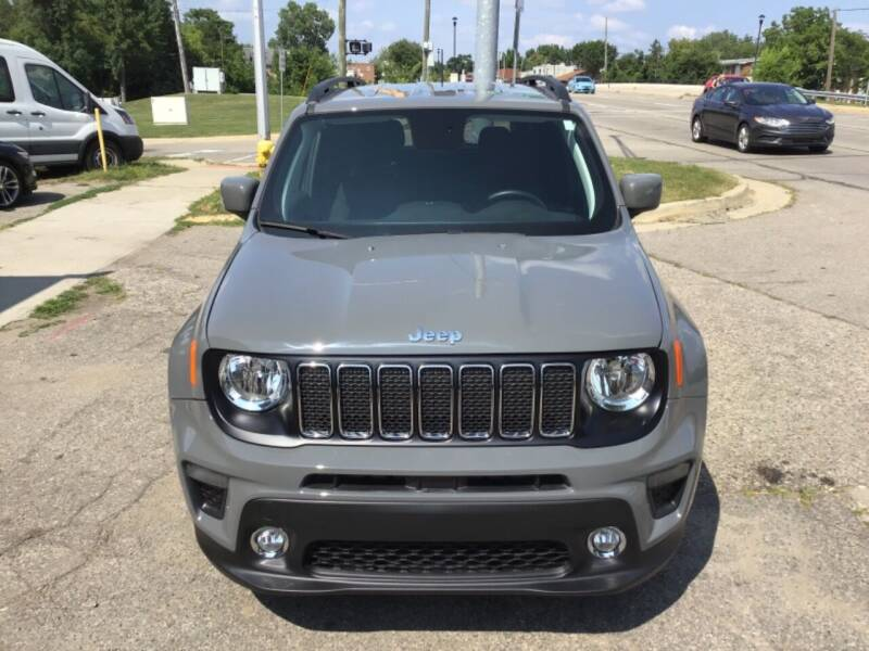 2019 Jeep Renegade for sale at One Price Auto in Mount Clemens MI