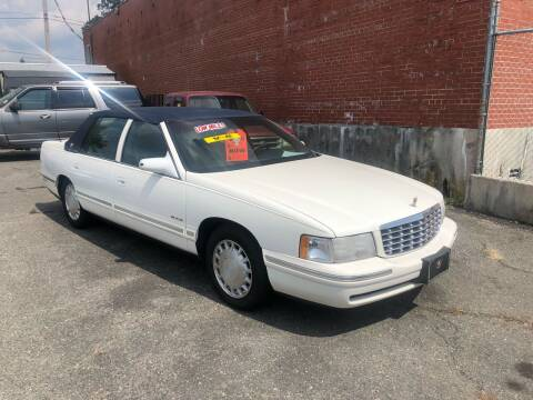 1997 Cadillac DeVille for sale at LINDER'S AUTO SALES in Gastonia NC