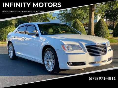2012 Chrysler 300 for sale at INFINITY MOTORS in Gainesville GA