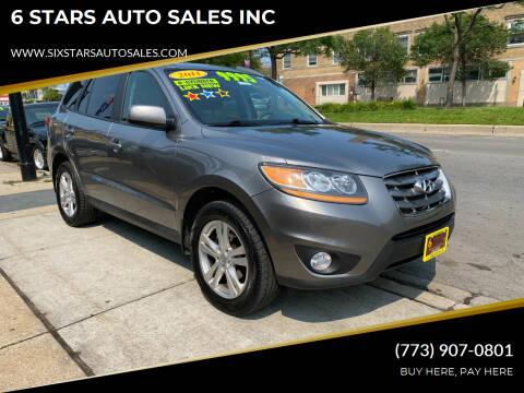 2011 Hyundai Santa Fe for sale at 6 STARS AUTO SALES INC in Chicago IL