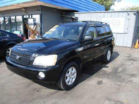 2003 Toyota Highlander for sale at AUTO BROKERS OF ORLANDO in Orlando FL