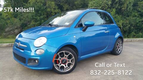 2015 FIAT 500 for sale at Houston Auto Preowned in Houston TX