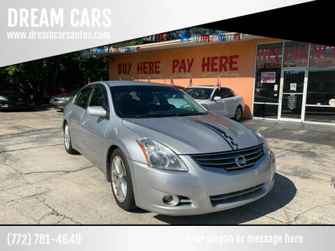 2012 Nissan Altima for sale at DREAM CARS in Stuart FL