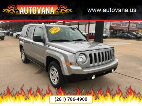 2015 Jeep Patriot for sale at AutoVana in Humble TX