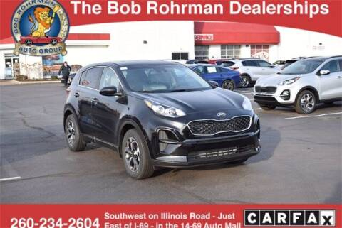 2021 Kia Sportage for sale at BOB ROHRMAN FORT WAYNE TOYOTA in Fort Wayne IN