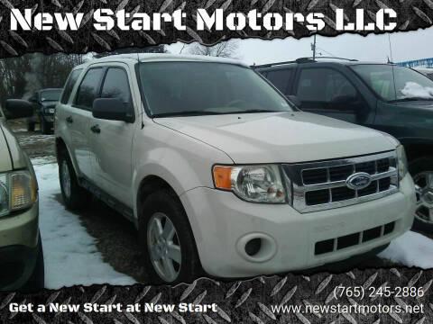 2010 Ford Escape for sale at New Start Motors LLC - Rockville in Rockville IN