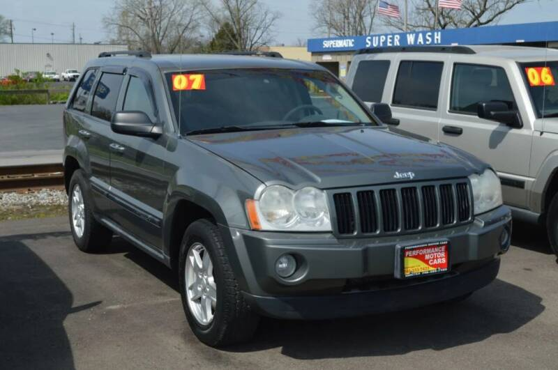 2007 Jeep Grand Cherokee for sale at Performance Motor Cars in Washington Court House OH